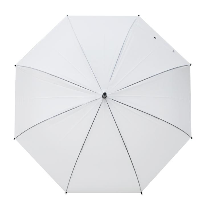 ビニール傘65cm 乳白 ジャンプ