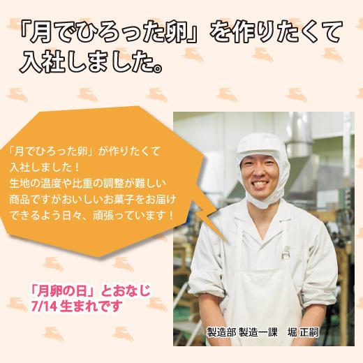 【全国配送・お中元】月でひろった卵 24個入