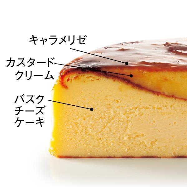 【配送専用・Xmas】黄金のバスクチーズブリュレ