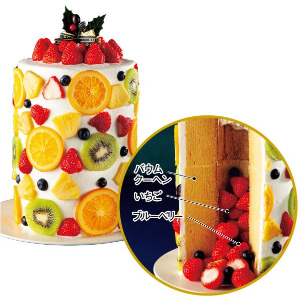 【店頭受取・Xmas】5種の果実のアメージングタワー