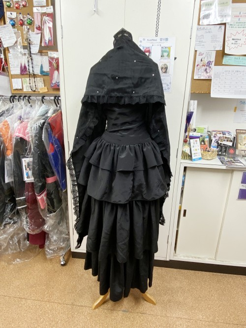 東京喰種 利世 黒ドレス 風衣装