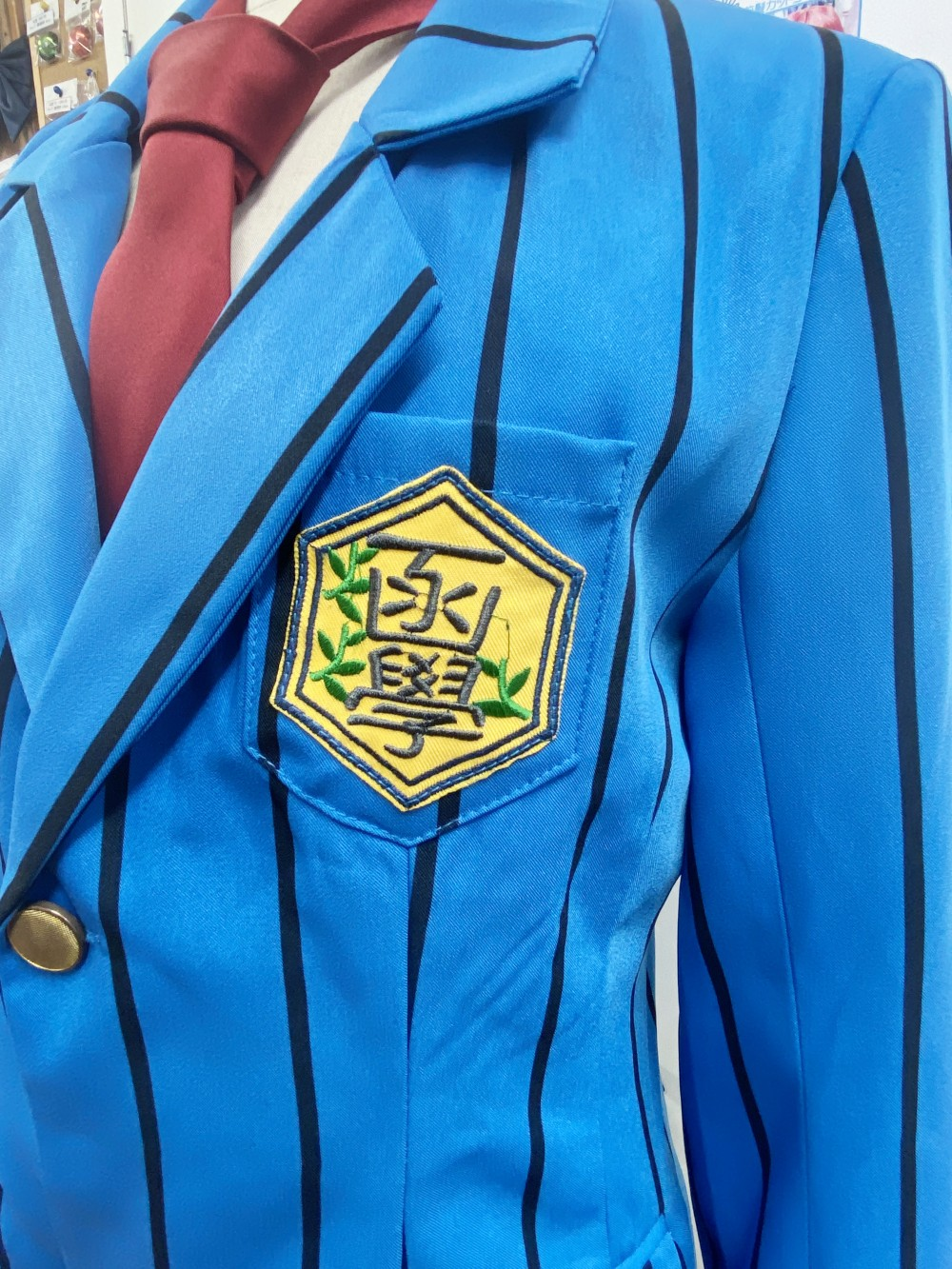 弱虫ペダル 箱根学園男子制服 風衣装