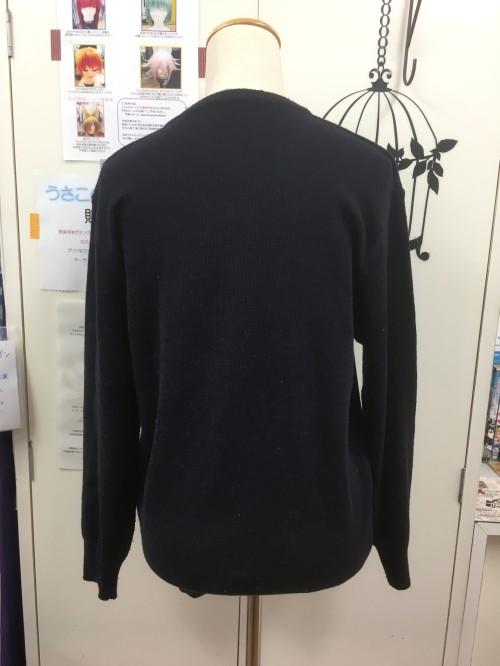 オリジナル Vネックセーター ネイビー