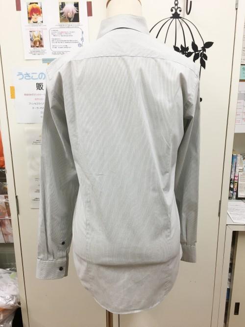 オリジナル ストライプ柄ワイシャツ