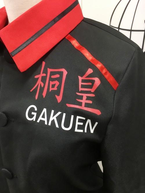 黒子のバスケ 桐皇ジャージ 風衣装【背番号9ユニフォームつき】