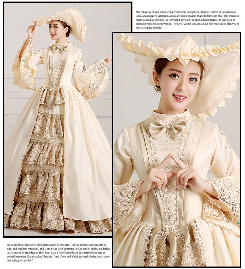 舞台衣装/ステージドレス 中世貴族風衣装  061131