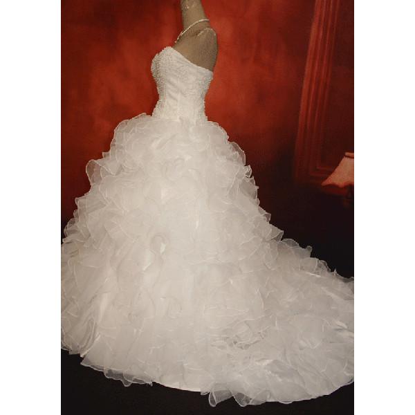 wdk052C ウェディングドレス