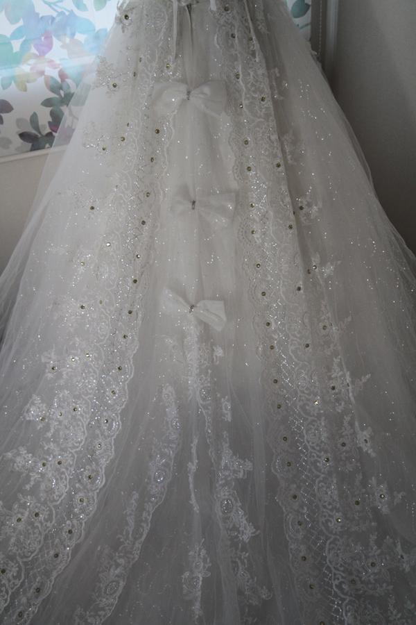 wdsk001  ウエディングドレスふんわりタイプ サイズオーダー可能