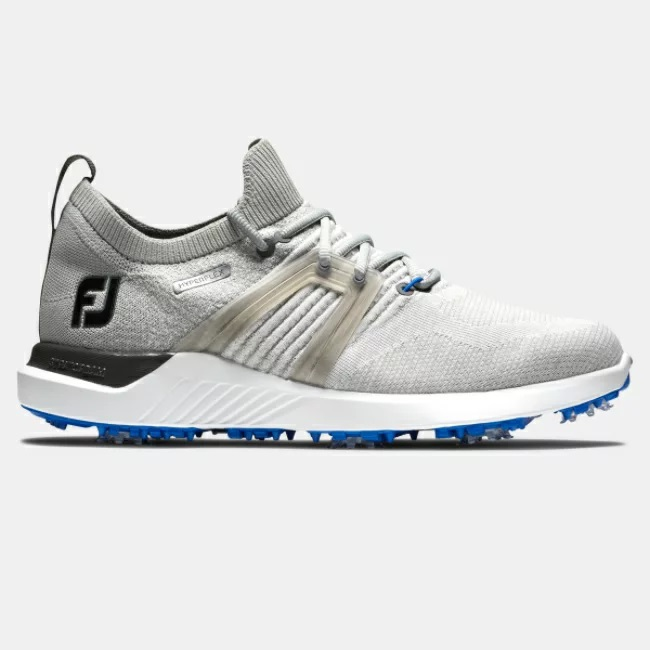 FootJoy HyperFlex Golf Shoes - Grey/White/Blue フットジョイ ハイパーフレックス ゴルフ シューズ