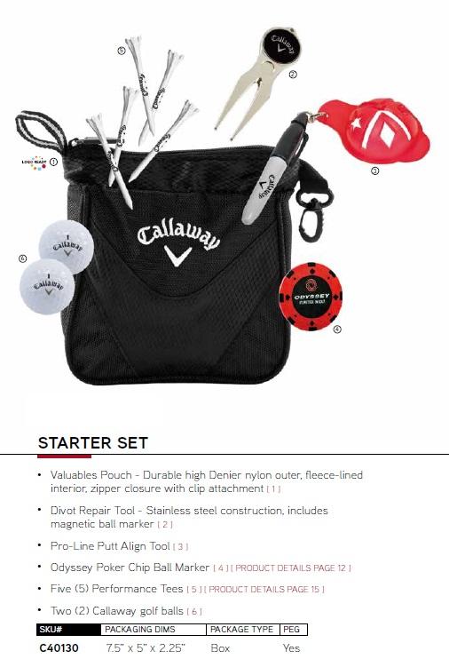 Callaway Starter Set キャロウェイゴルフ スターター ギフトセット