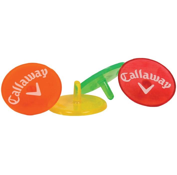 Callaway Neon Ball Marker 8CT キャロウェイ ネオン ボールマーカー 8個入り