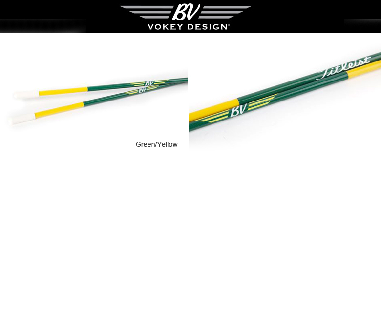 Titleist 2014 Vokey Alignment Sticks Augusta Green/Yellow タイトリスト ボーケイ アライメントスティック オーガズタグリーン/イエロー