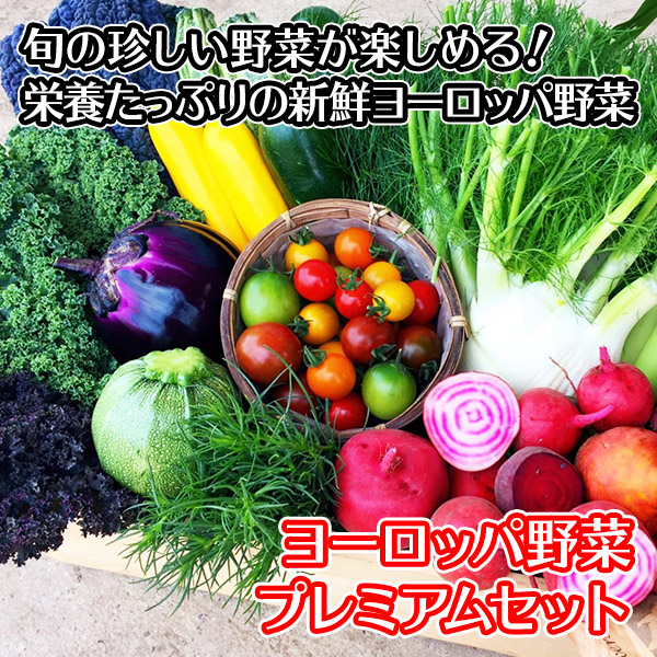 野菜 詰め合わせ セット ヨーロッパ ヨーロッパ野菜 サラダ 珍しい野菜 プレミアム お取り寄せ グルメ ギフト  北国からの贈り物 送料無料
