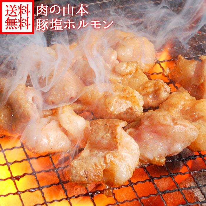 豚塩ホルモン(味付き)880g 220g×4袋 肉/豚塩/BBQ/焼肉/送料無料