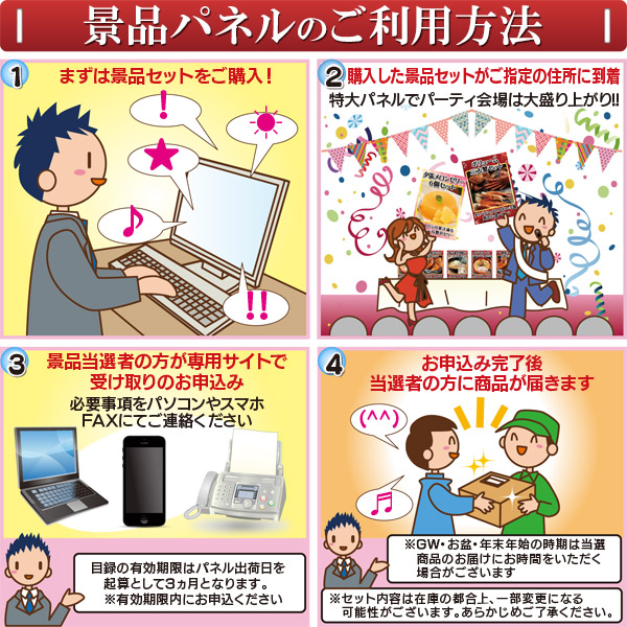 目録(グルメギフト券)「北海道ラーメン14食セット」 景品パネル 送料無料