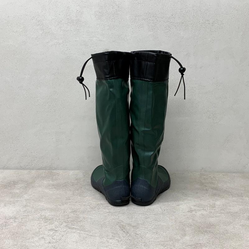 野鳥の会 バードウォッチング長靴  グリーン