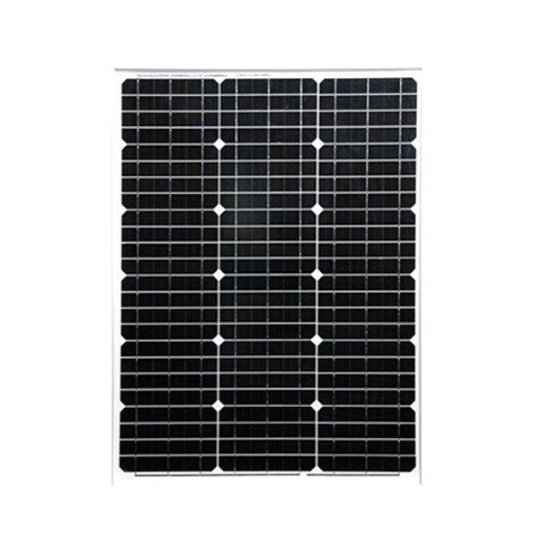 50W単結晶ソーラーパネル