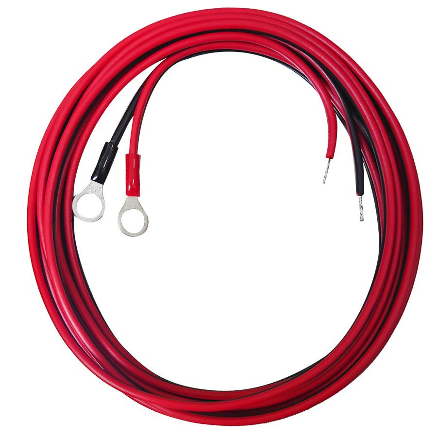 船舶用 セミフレキシブル 50Wソーラー発電蓄電ケーブルセット 屋外用ソーラーケーブル仕様