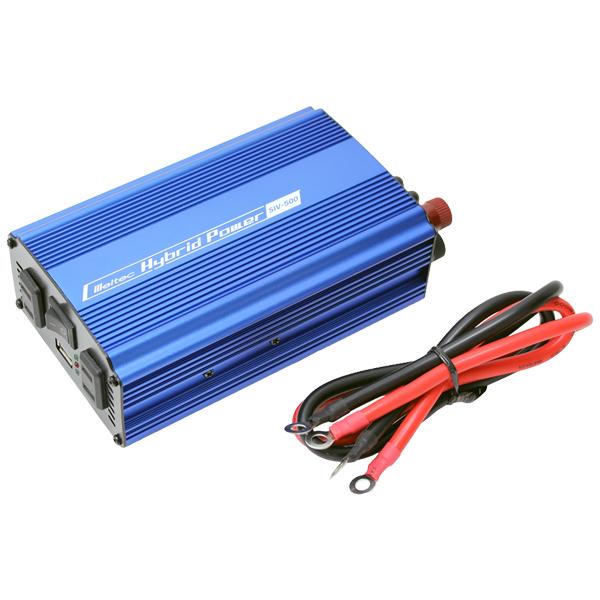 非常用 アウトドア等に! 100Wソーラー発電蓄電インバータセット 500Wインバーター バッテリーなし