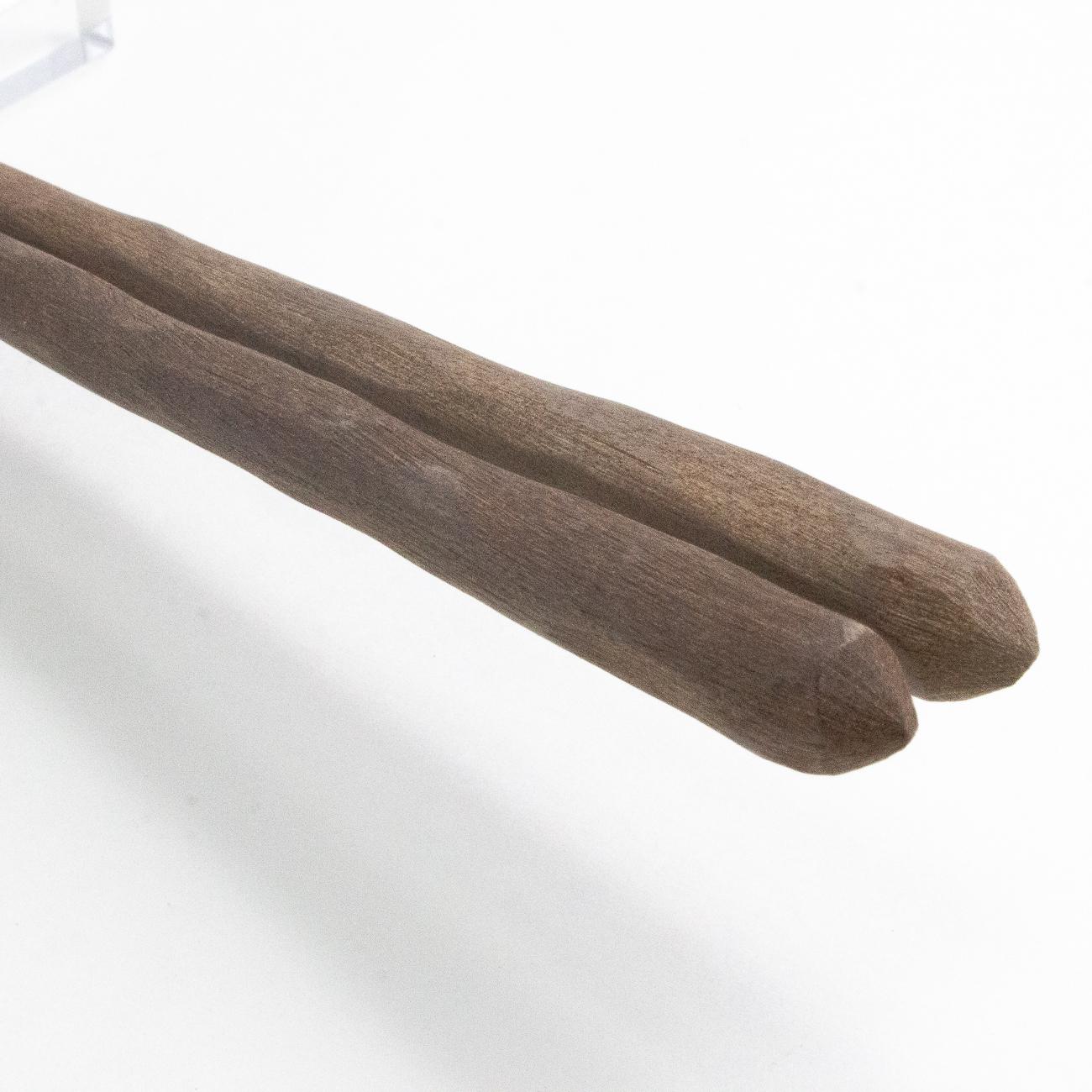 ろう磨きけずり黒檀 大 23.5cm