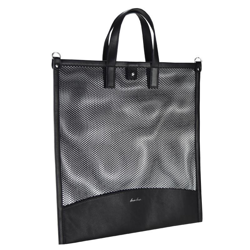 【mesh】ポーチ付きトートバッグ