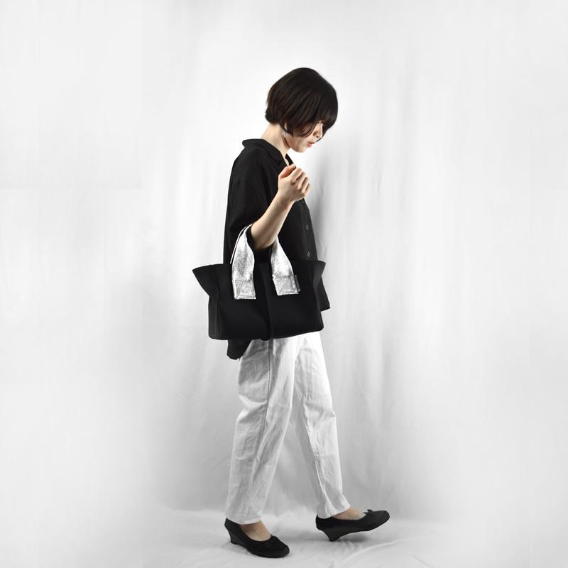 ★NEWリリース ★WEB限定 【wet】トートバッグ Sサイズ(シルバーハンドル)