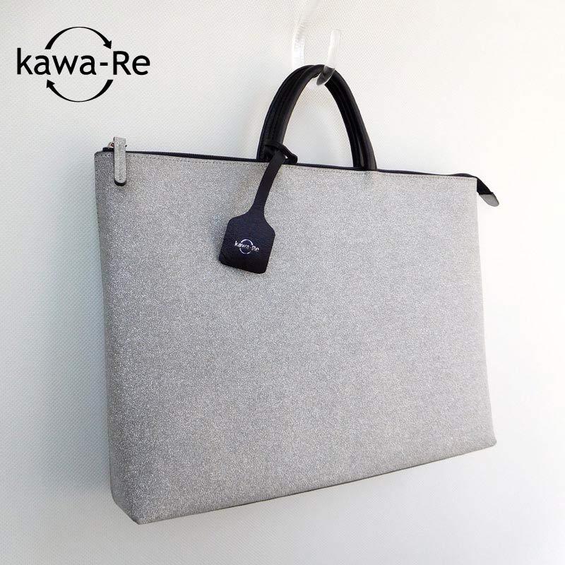 【kawa-Re】 glitterスリムトート(941SV)