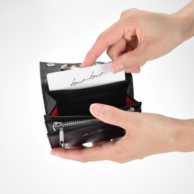 【ハトメミニ財布】スーパーソフト