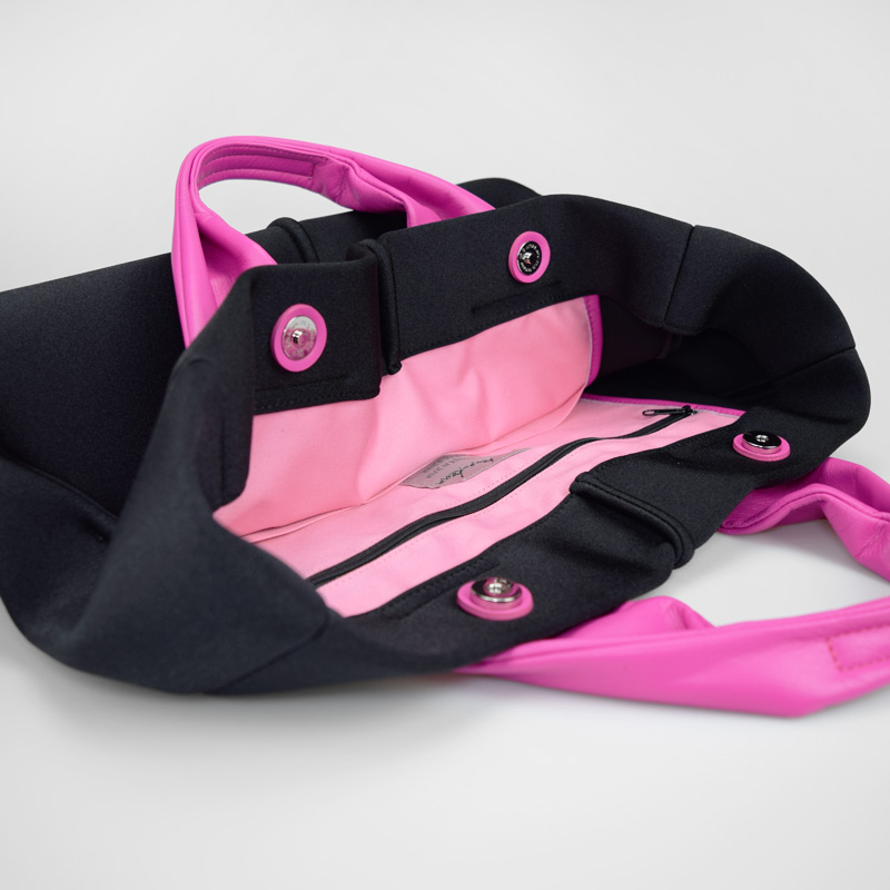 ★WEB限定 【wet】トートバッグ Mサイズ(pinkハンドル)