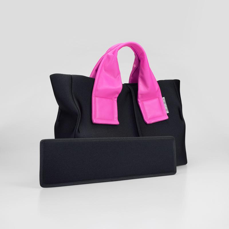 ★残りわずか ★WEB限定 【wet】トートバッグ Mサイズ(pinkハンドル)
