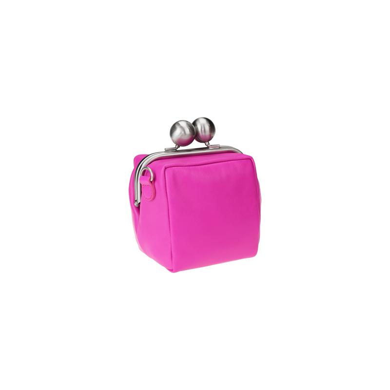 【new color pink】kuchiganeサイコロポシェット