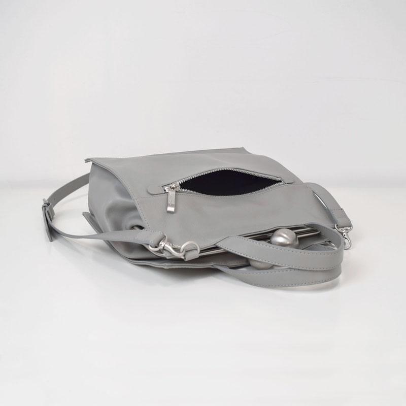 ★(ピンク)残りわずか!【kuchigane】角型2WAYショルダーバッグ