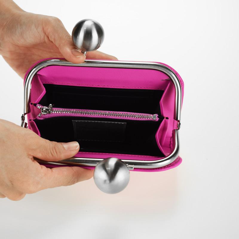 【kuchigane財布】スーパーソフト(pink)