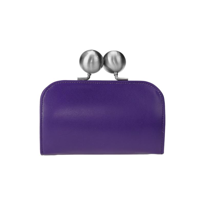 【kuchigane財布】スーパーソフト(purple)