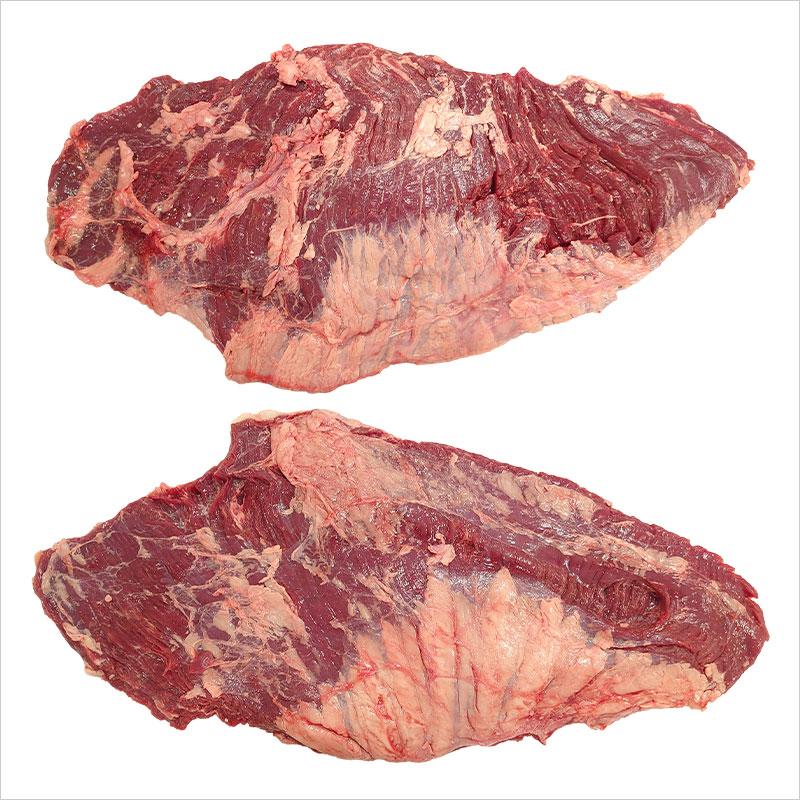 【量り売り】シルバーファーンファームス社 ニュージーランド牧草牛 チルド 牛 カイノミ ブロック(フラップミート/バラ正肉)リザーブグレード【1パック(2枚入り):2.5〜3.5kg】