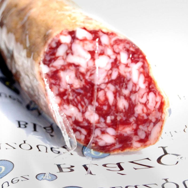 【量り売り】スペイン産 サラミ サルシチョン・ベジョータ アドミラシオン SALCHICHON IBERICO BELLOTA ADMIRACION【1本:約0.4〜0.7kg】
