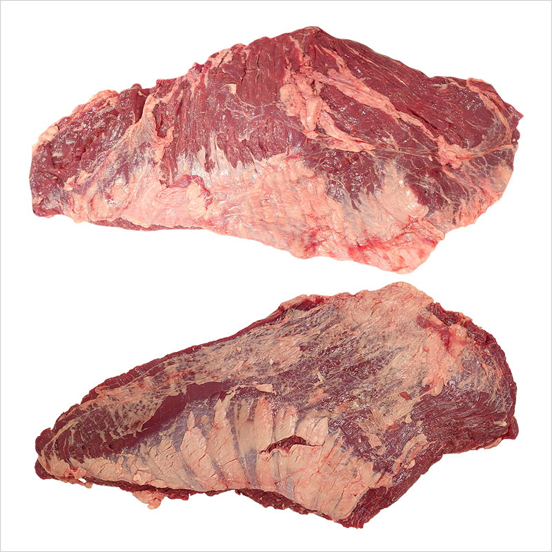 【量り売り】シルバーファーンファームス社 ニュージーランド牧草牛 チルド 牛 カイノミ ブロック(フラップミート/バラ正肉)プレミアムステアグレード【1パック(2枚入り):2.5〜3.5kg】