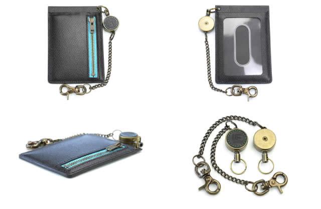 革職人 reel II(リールツー)ファスナー付きパスケース
