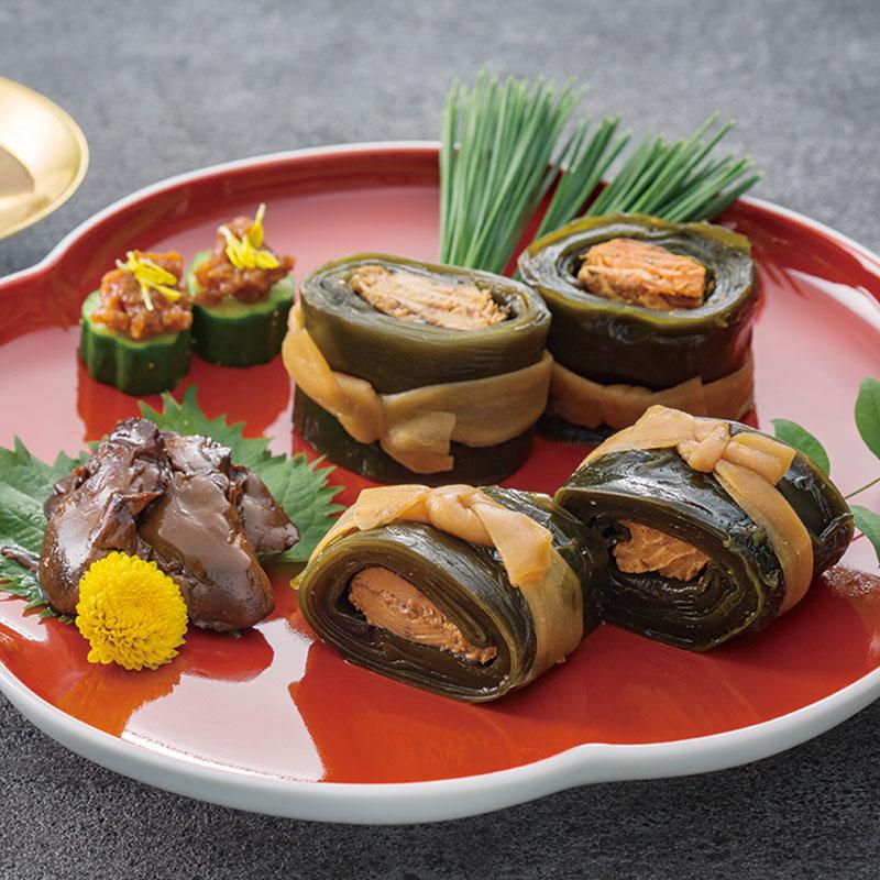 04−01<早野商店>やまだいいち昆布巻・佃煮セット YKO