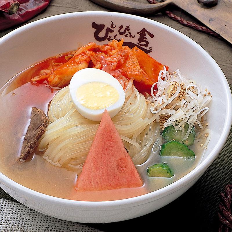 〈ぴょんぴょん舎〉盛岡冷麺スペシャル4食セット(SP4)