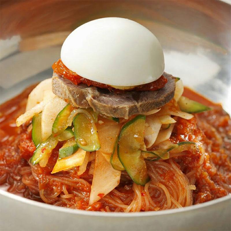 〈ぴょんぴょん舎〉ピビン冷麺2食セット