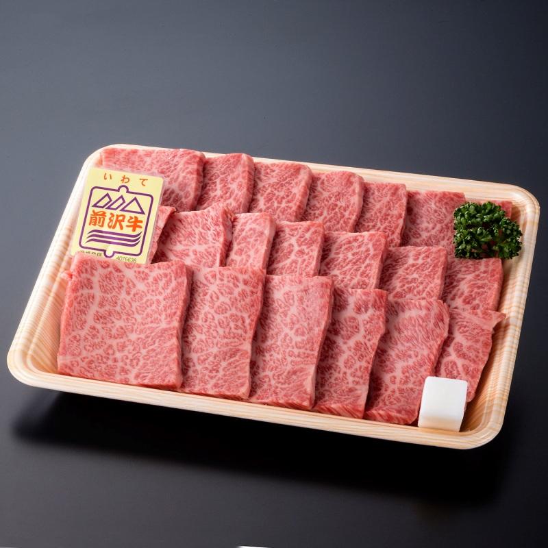 〈いわちく〉前沢牛 肩ロース焼肉用(480g)