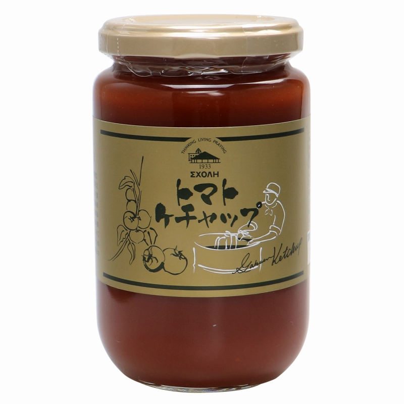 〈スコーレ学園〉トマトケチャップ 370g