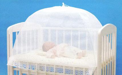 ミニベビーベッド用蚊帳 ミストホワイト