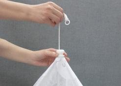 ベビーベッド用蚊帳(麻100%・ヨコ縞)