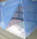 天然素材 ムカデ対策用大蚊帳 片麻 ブルー 6畳