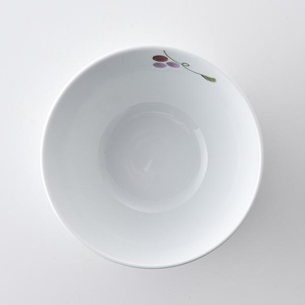 彩りぶどう 広口碗(大)