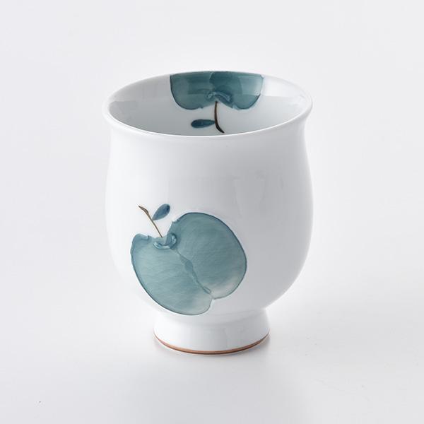 りんご コップ(大・青)