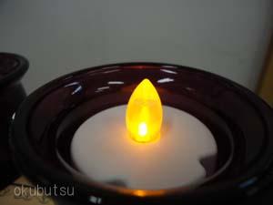 家具調仏壇用 ガラス仏具