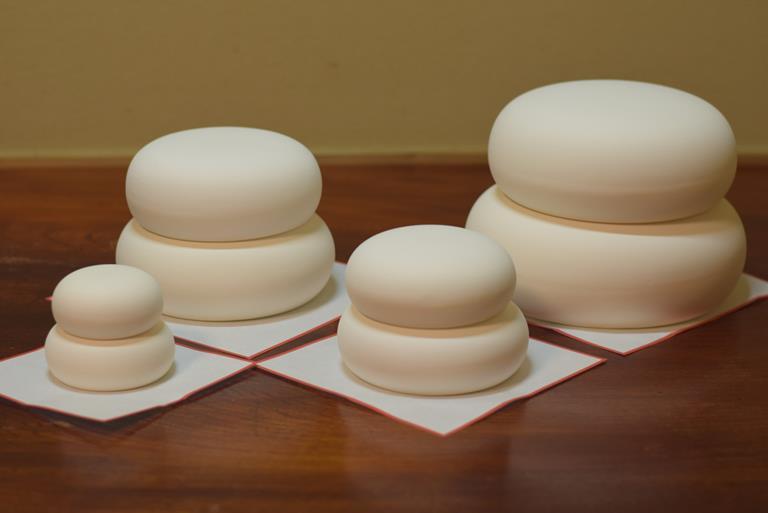 正月飾り 鏡餅 陶器製 毎年飾れる 鏡餅のみ単品で